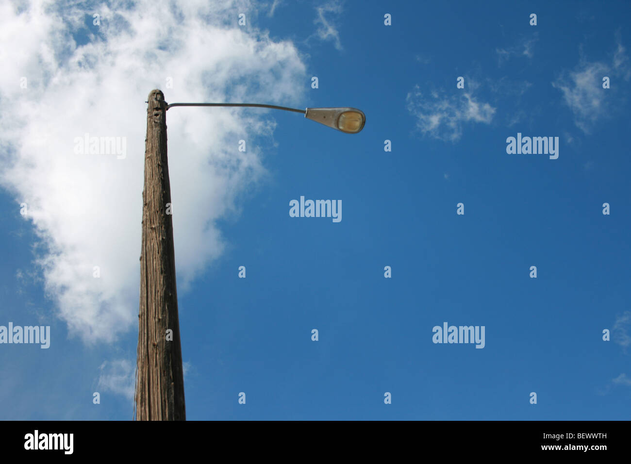 Street light avec sky Photo Stock