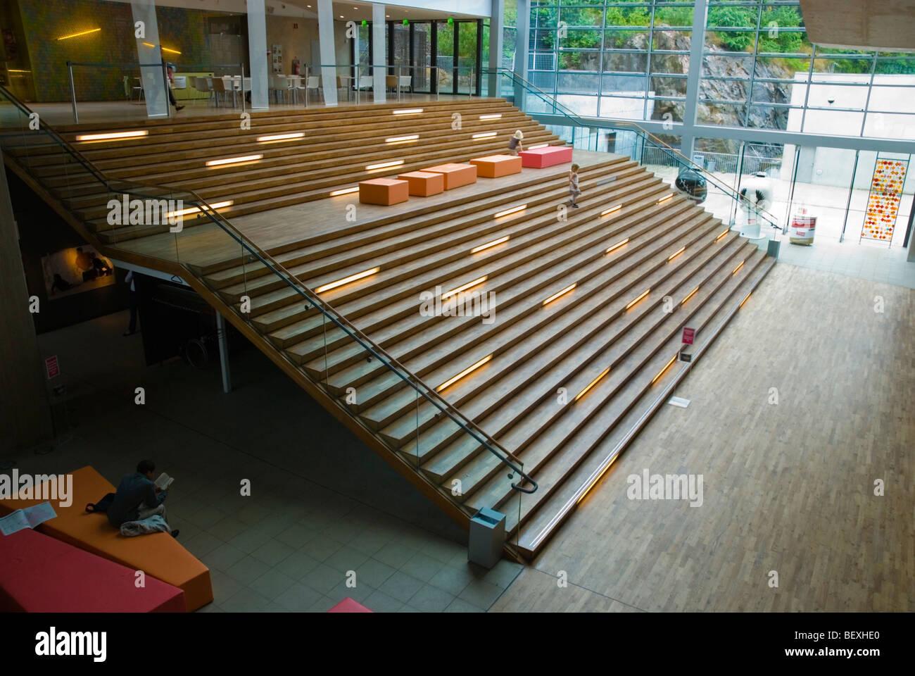 Världskulturmuseet le Musée des Cultures du Monde à Göteborg en Suède Europe Photo Stock