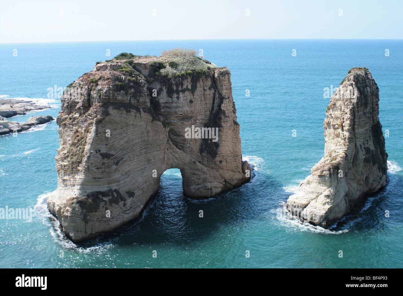 Roch de Beyrouth Photo Stock