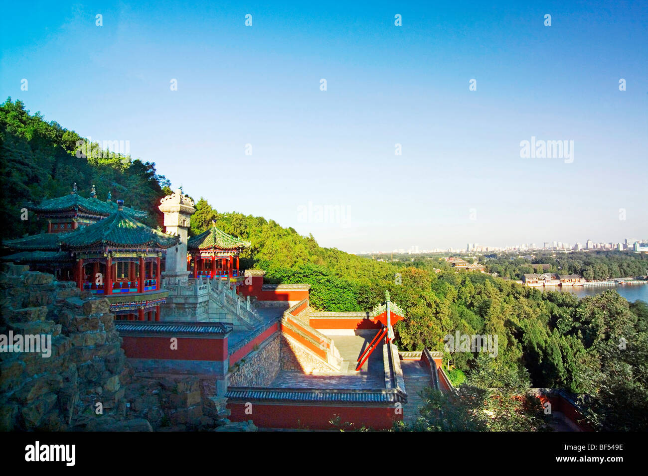 Archives renouvelable, Summer Palace, Beijing, Chine Photo Stock