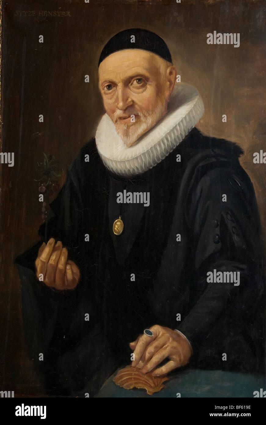 Chirurghijn chirurgien Chirurgie Museum Hoorn Pays-bas Hollande l'âge d'or de COV Photo Stock