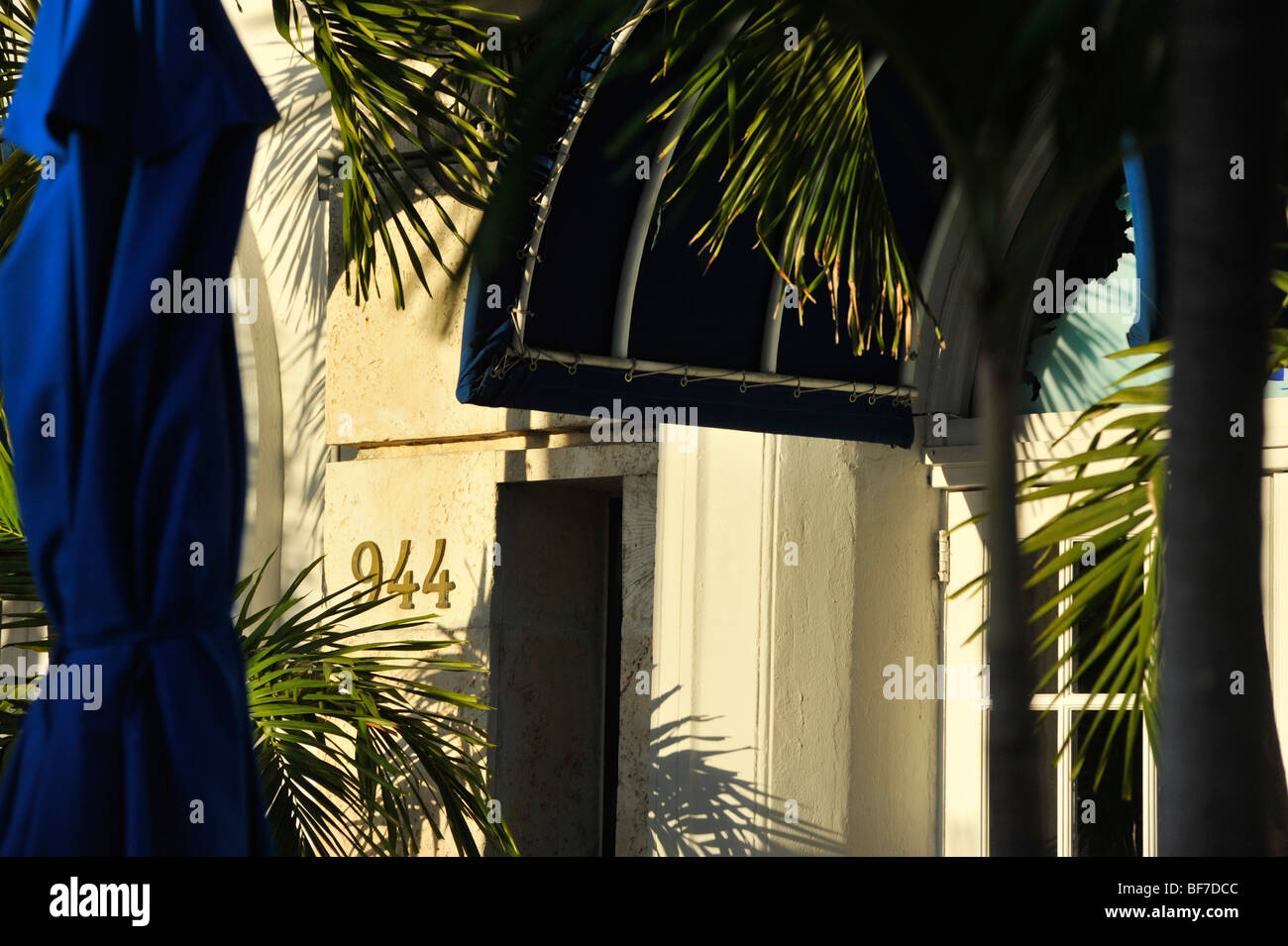 Blue Moon Hotel South Beach Miami Banque D'Images