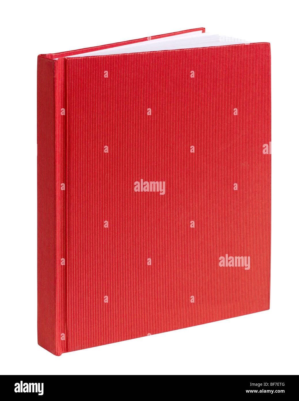 Revue de livre rouge livre croquis Dessiner Photo Stock