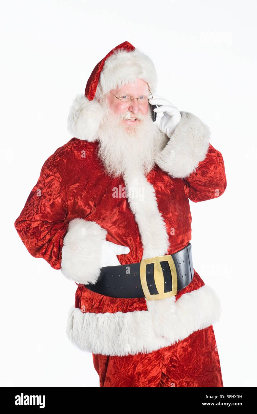 The Santa Claus On The Phone Photos The Santa Claus On The Phone
