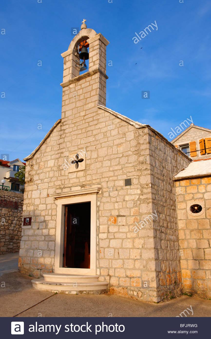 Chapelle dans la région de Bol , Venise, Italie Photo Stock