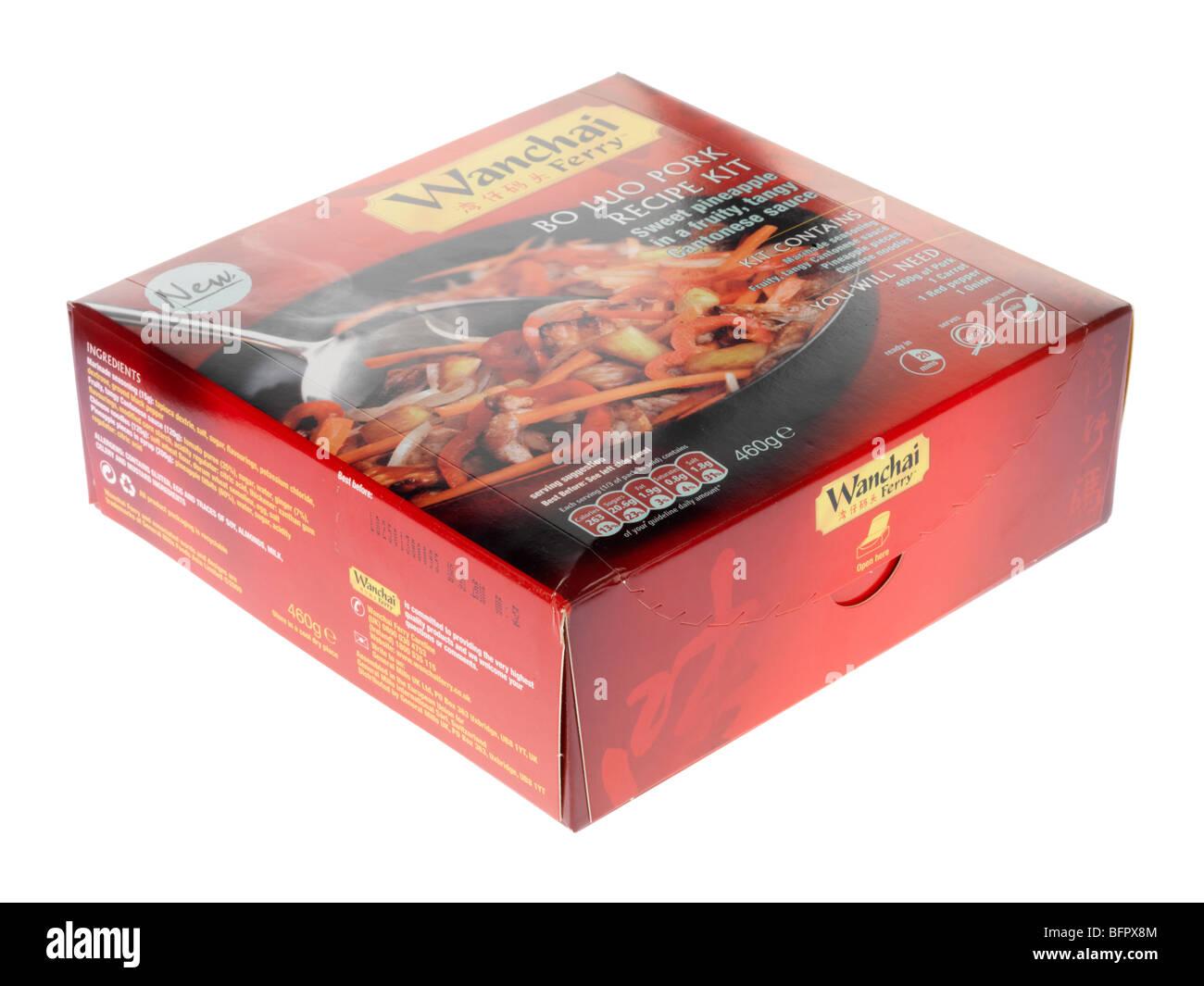 Kit Recette Porc Lou Bo Photo Stock
