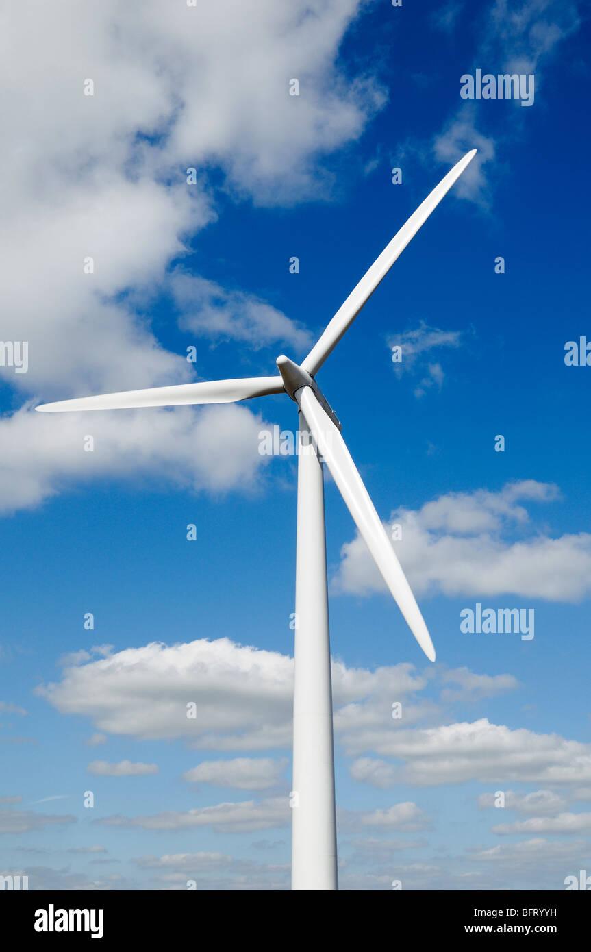 L'énergie renouvelable éolienne Photo Stock