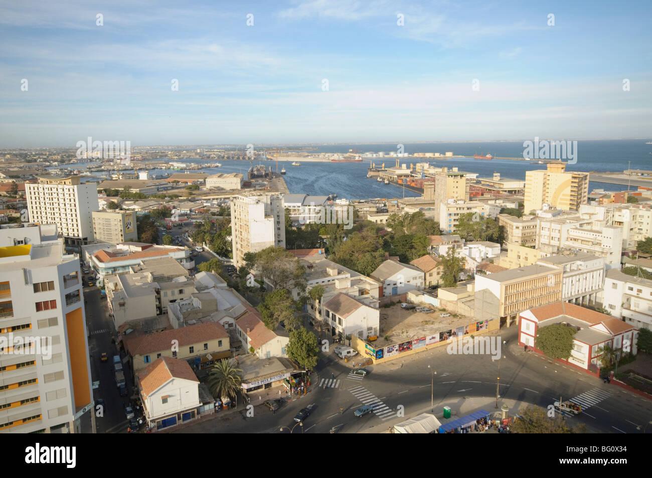 Dakar, Sénégal, Afrique de l'Ouest, l'Afrique Photo Stock