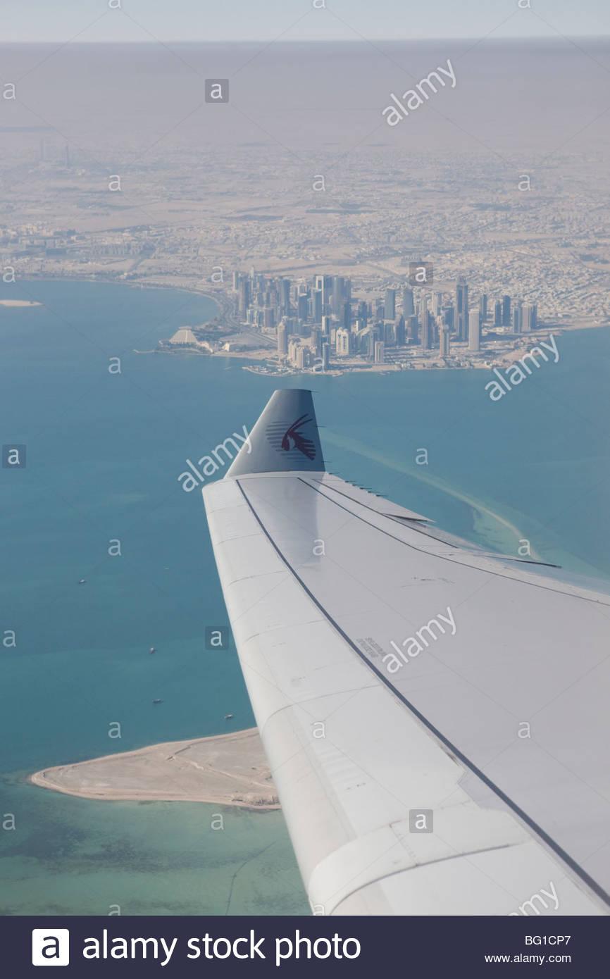 Doha, au Qatar, au Moyen-Orient, en Asie Photo Stock