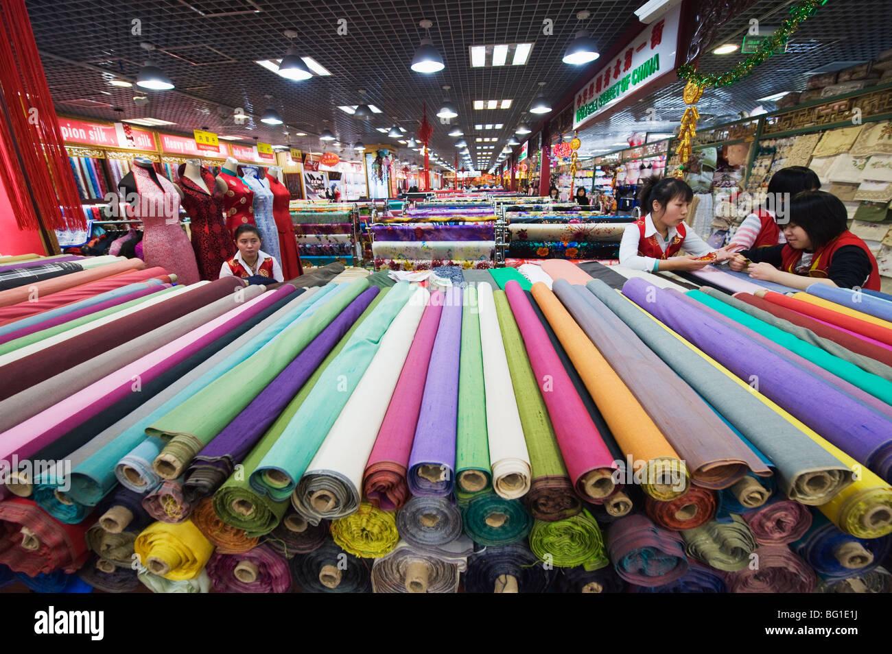 Marché de la soie, Beijing, China, Asia Photo Stock
