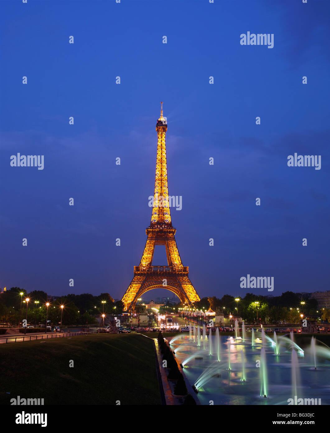 La Tour Eiffel, Paris, France, Europe Photo Stock