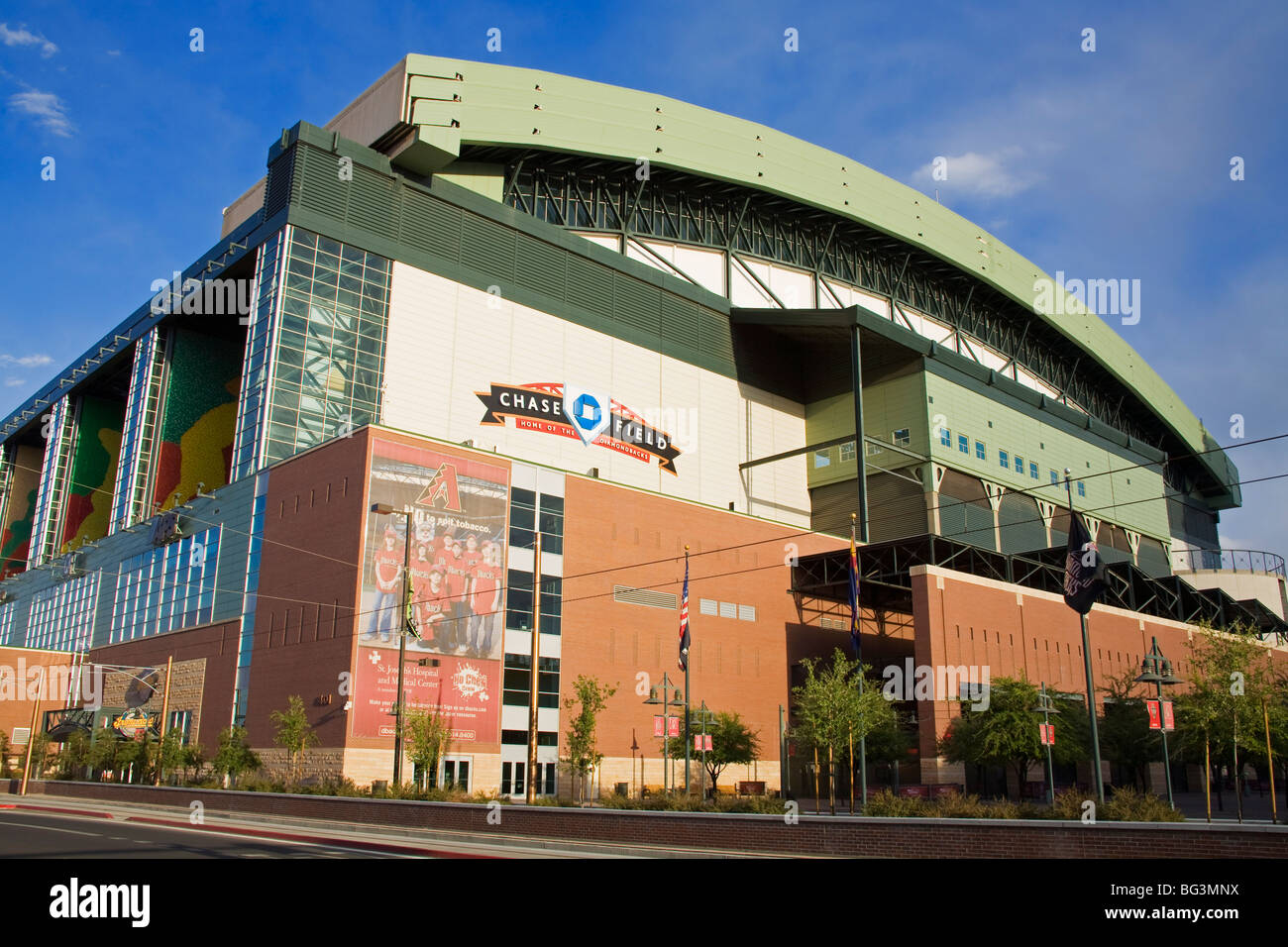 Chase Field Baseball Park, Phoenix, Arizona, États-Unis d'Amérique, Amérique du Nord Photo Stock