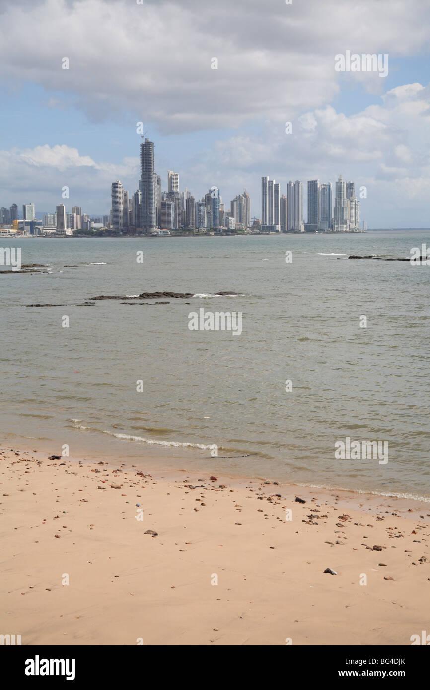 La ville de Panama, Panama, Amérique Centrale Photo Stock
