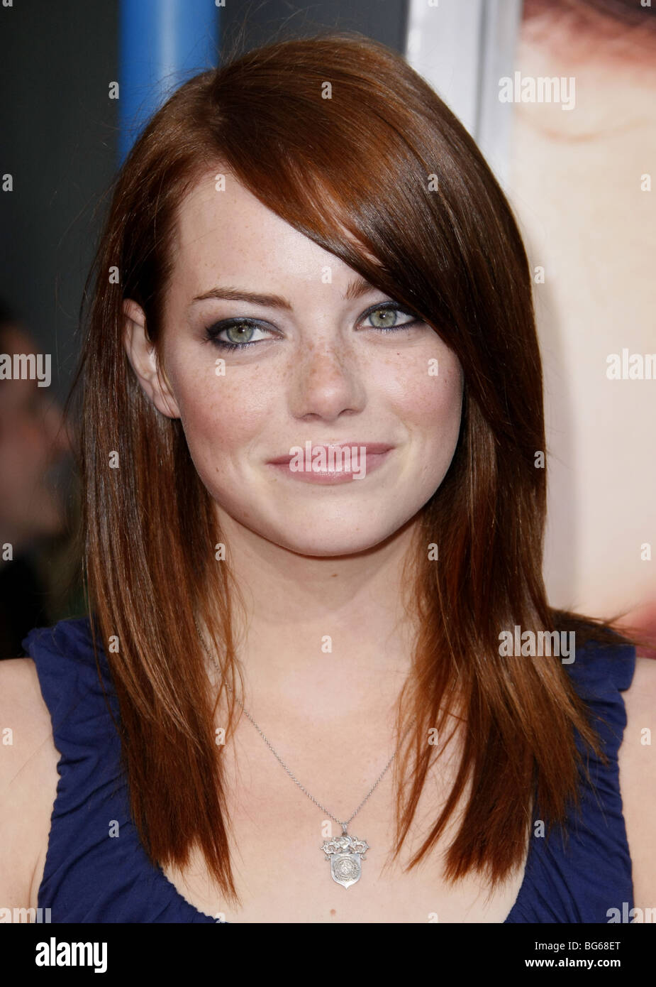 EMMA STONE PINEAPPLE EXPRESS PREMIERE WESTWOOD LOS ANGELES USA 31 Juillet 2008 Photo Stock