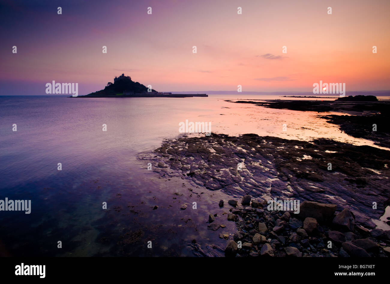 St Michaels Mount, Penzance, Cornwall, England, UK Photo Stock