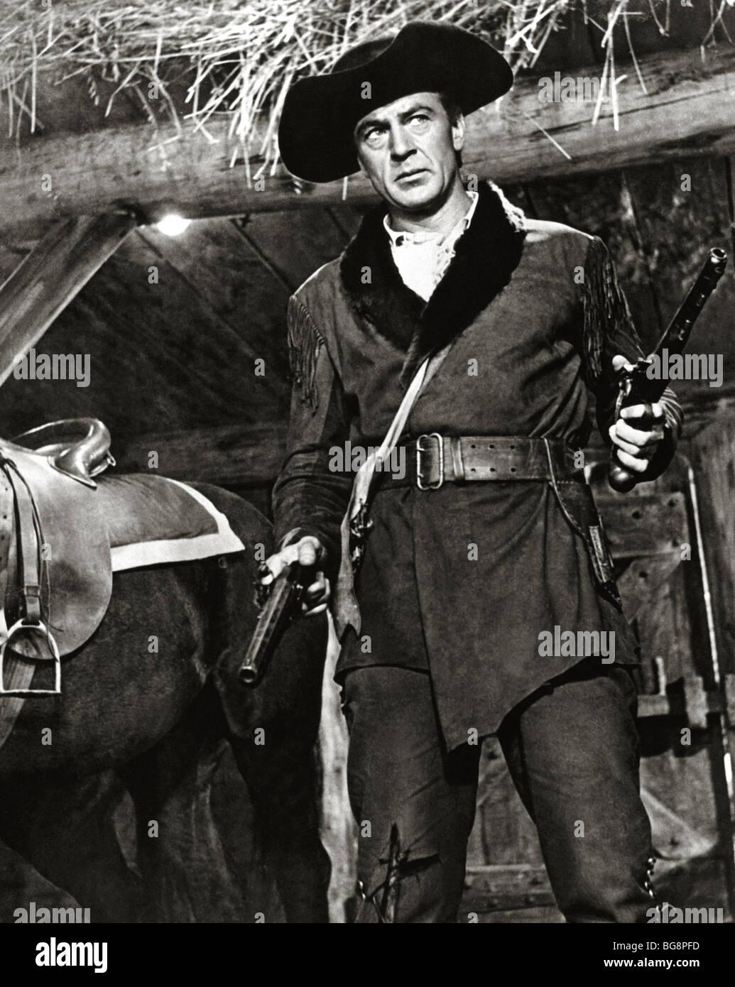 COOPER, Gary (Helena,1901-Hollywood,1961). L'acteur américain. Photo Stock