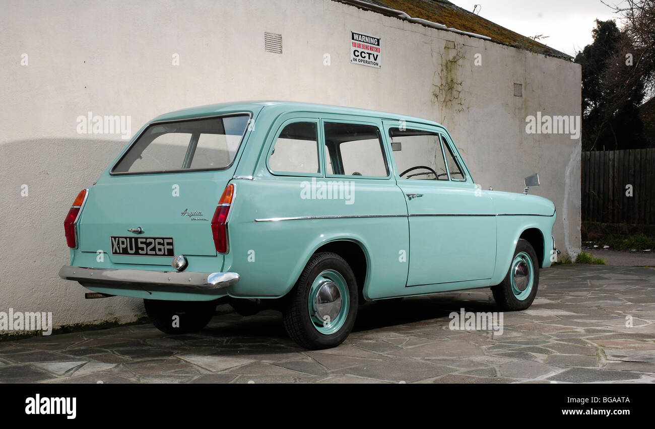 1968 Ford Anglia Deluxe Photo Stock