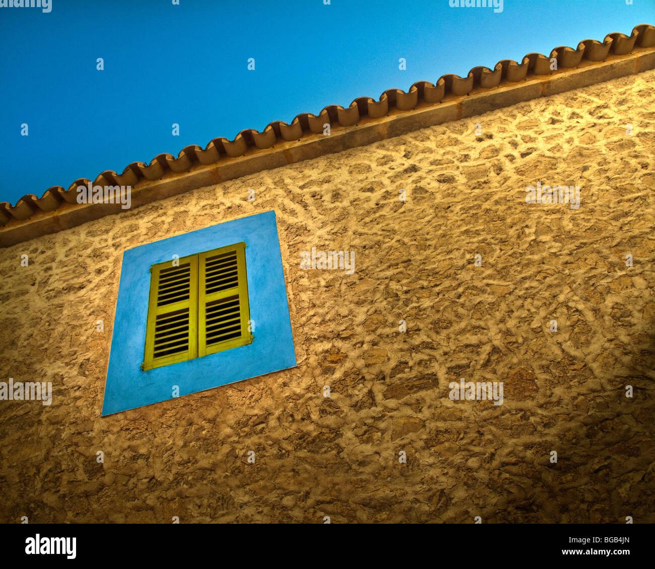 ES - MALLORCA: détails architecturaux typiques à Arta Photo Stock