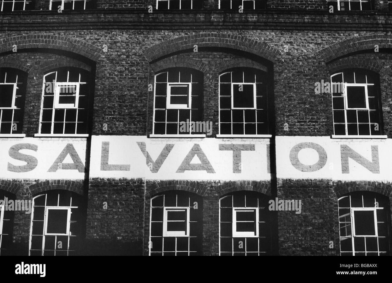Photographie de l'Armée du salut sans-abri refuge victorian London UK Banque D'Images