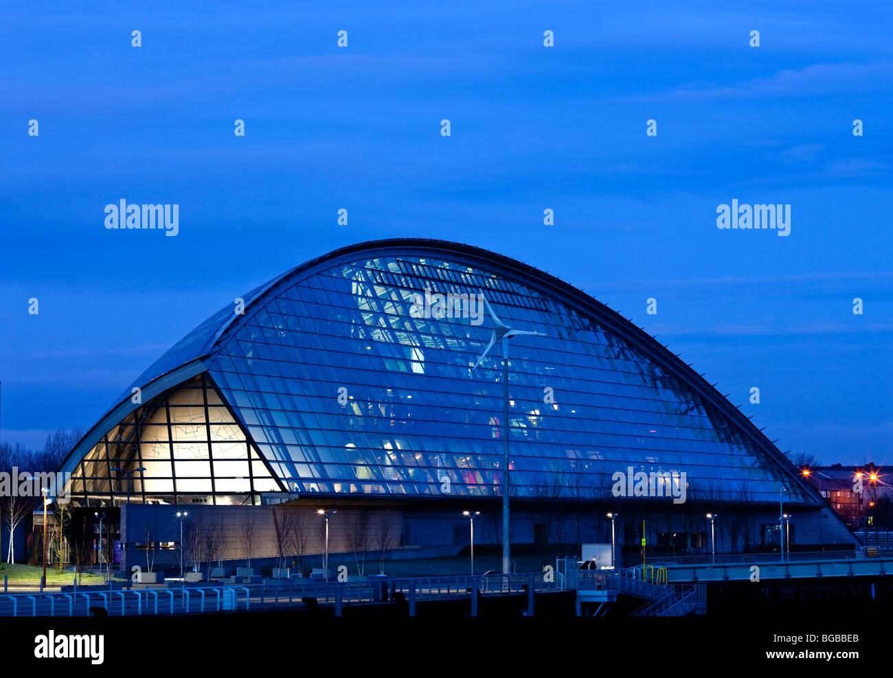 Glasgow Science Centre Banque D'Images