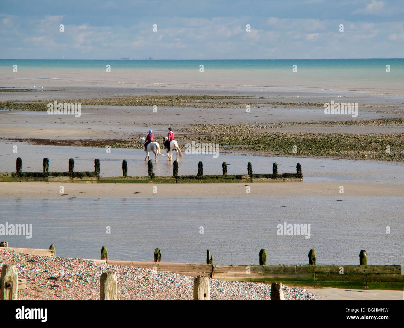 Riders On The Beach Photos   Riders On The Beach Images - Alamy c7c3599fe2bb