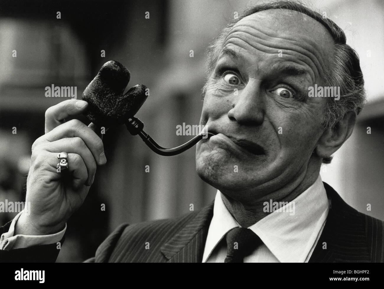 Henry Cooper est pipeman boxeur de l'année Photo Stock