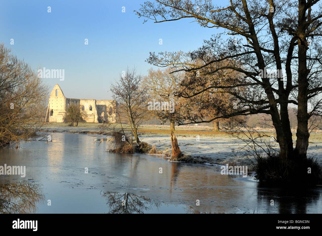 La navigation de la rivière Wey,Pyrford Photo Stock