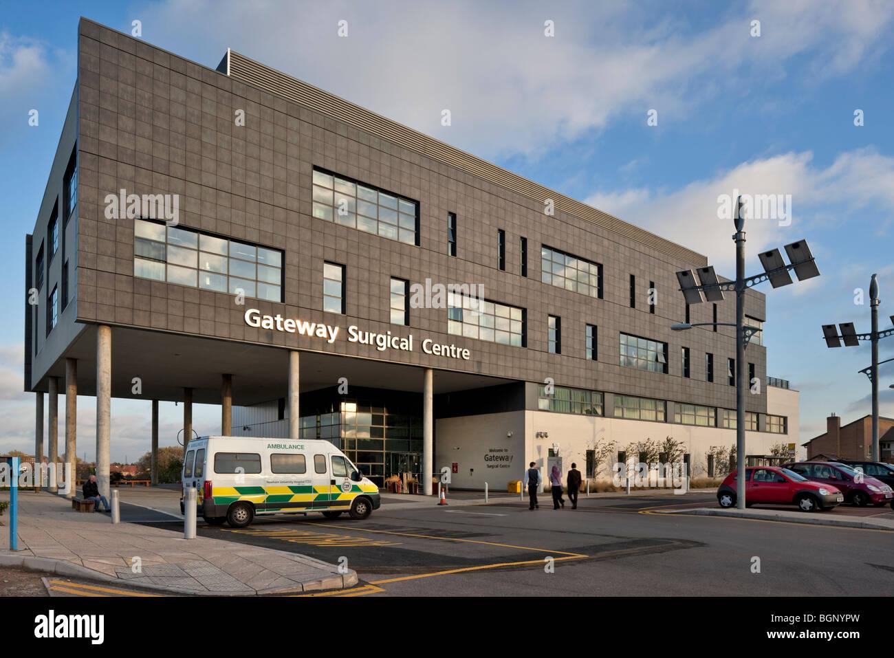 Gateway Centre de chirurgie à Newham University Hospital. Photo Stock