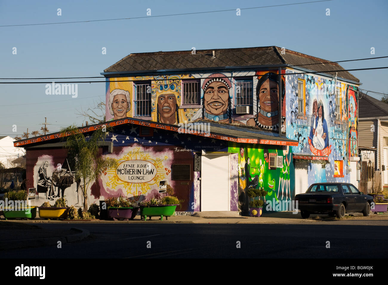 Ernie K-Doe's Mother-In-Law Lounge, La Nouvelle-Orléans, Louisiane Photo Stock
