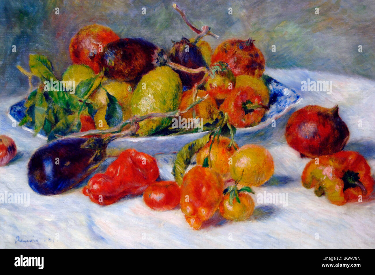 Pierre-Auguste Renoir Fruits du Midi 1881 Photo Stock