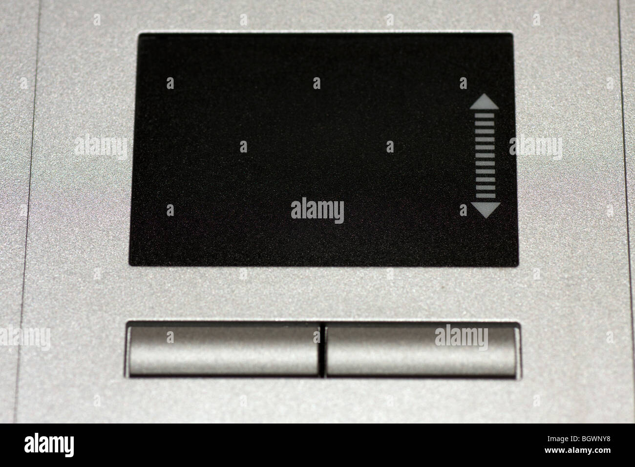 Gros plan du clavier de l'ordinateur tablette tactile. Photo Stock