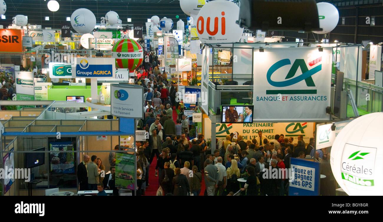 International Livestock Show, Clermont-Ferrand, Cournon, France. Banque D'Images