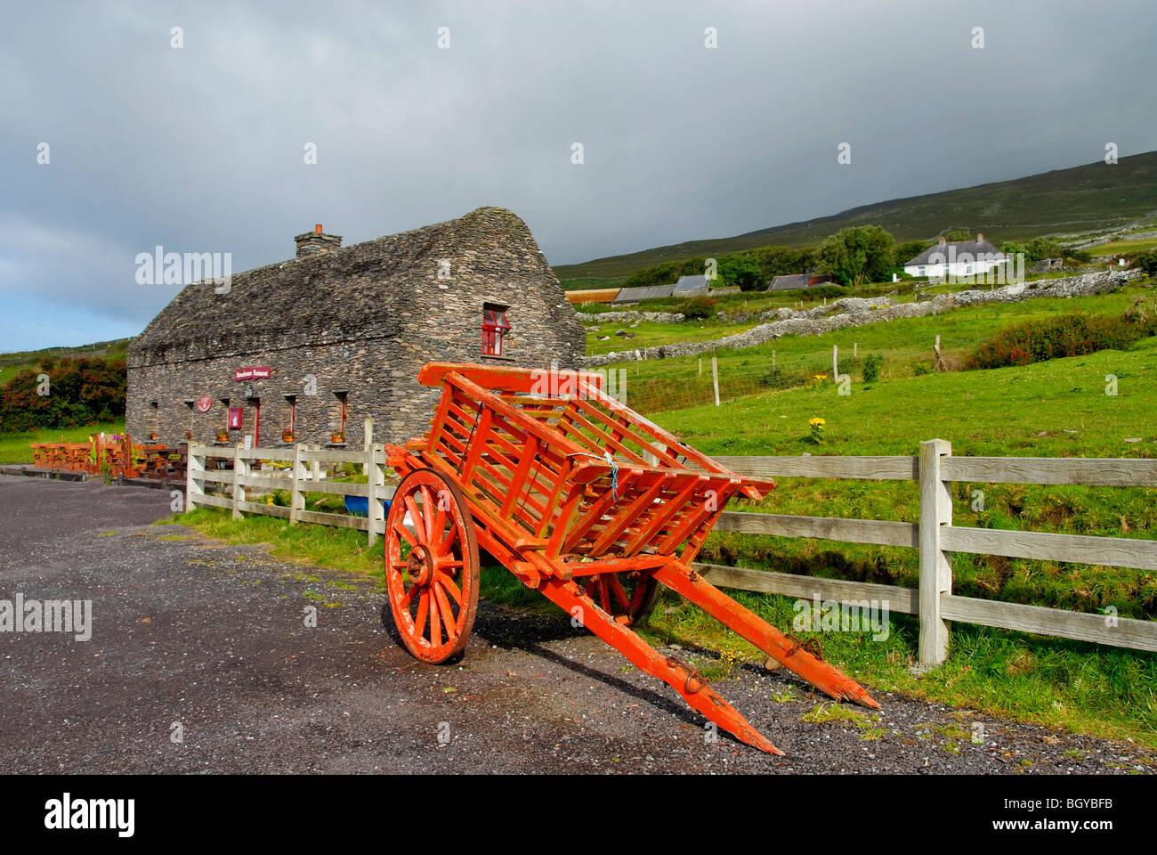 Péninsule de Dingle, Irlande, pays Photo Stock