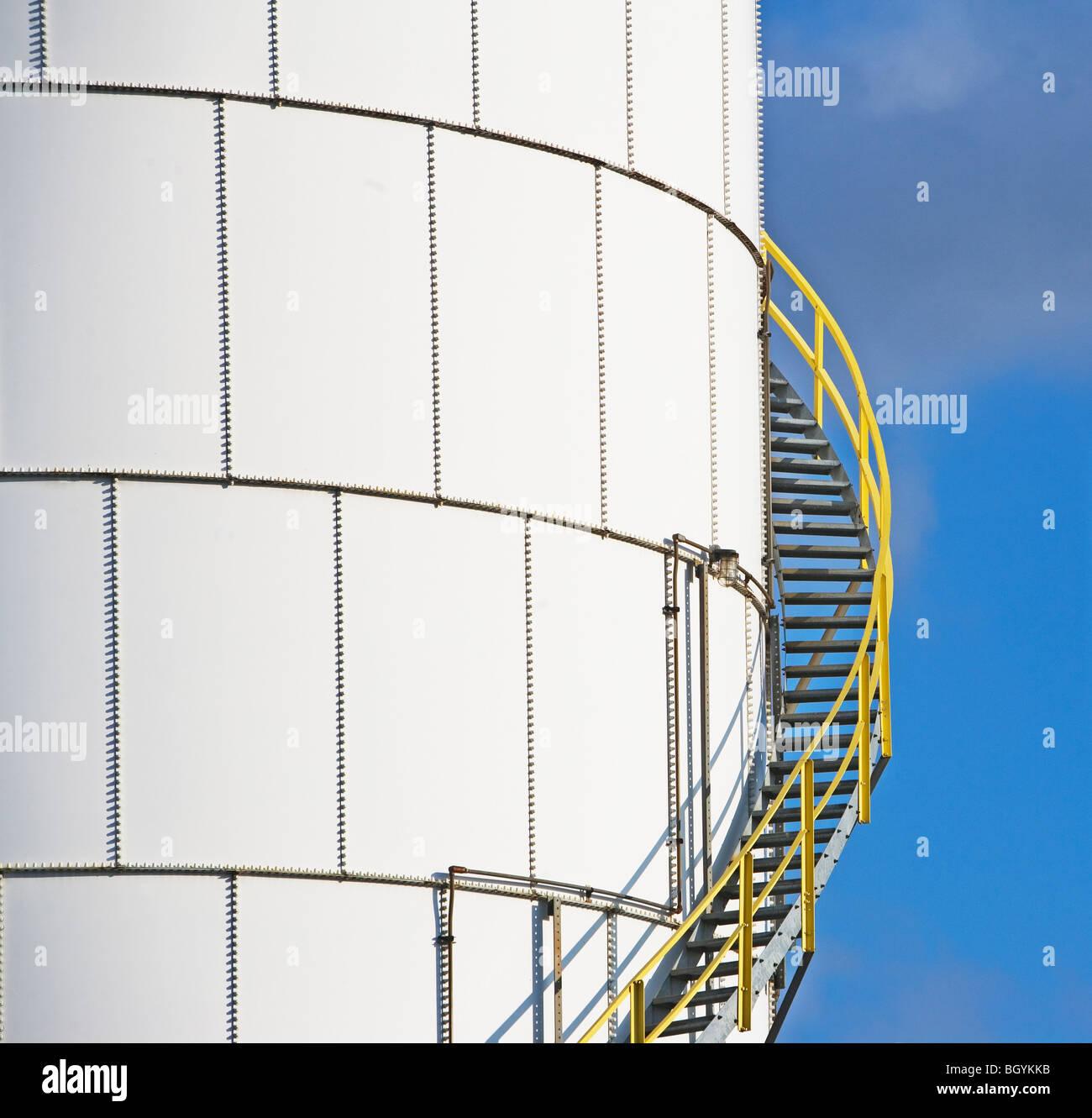 Réservoir d'huile sur mesures Photo Stock