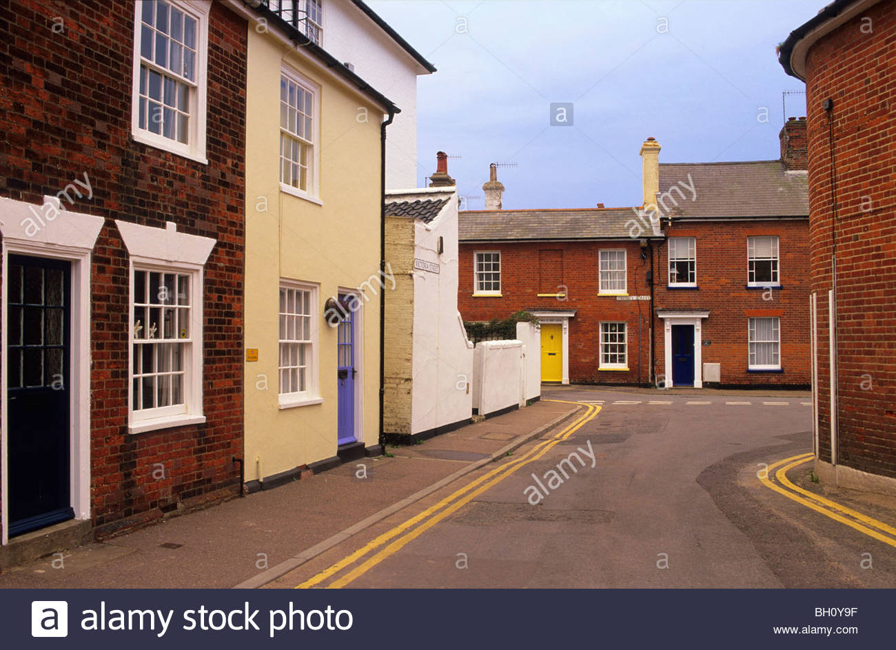 L'Europe, en Angleterre, dans le Suffolk, Southwold, East Anglia Photo Stock