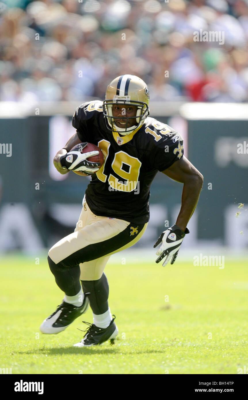 Devery Henderson #19 de la New Orleans Saints Photo Stock