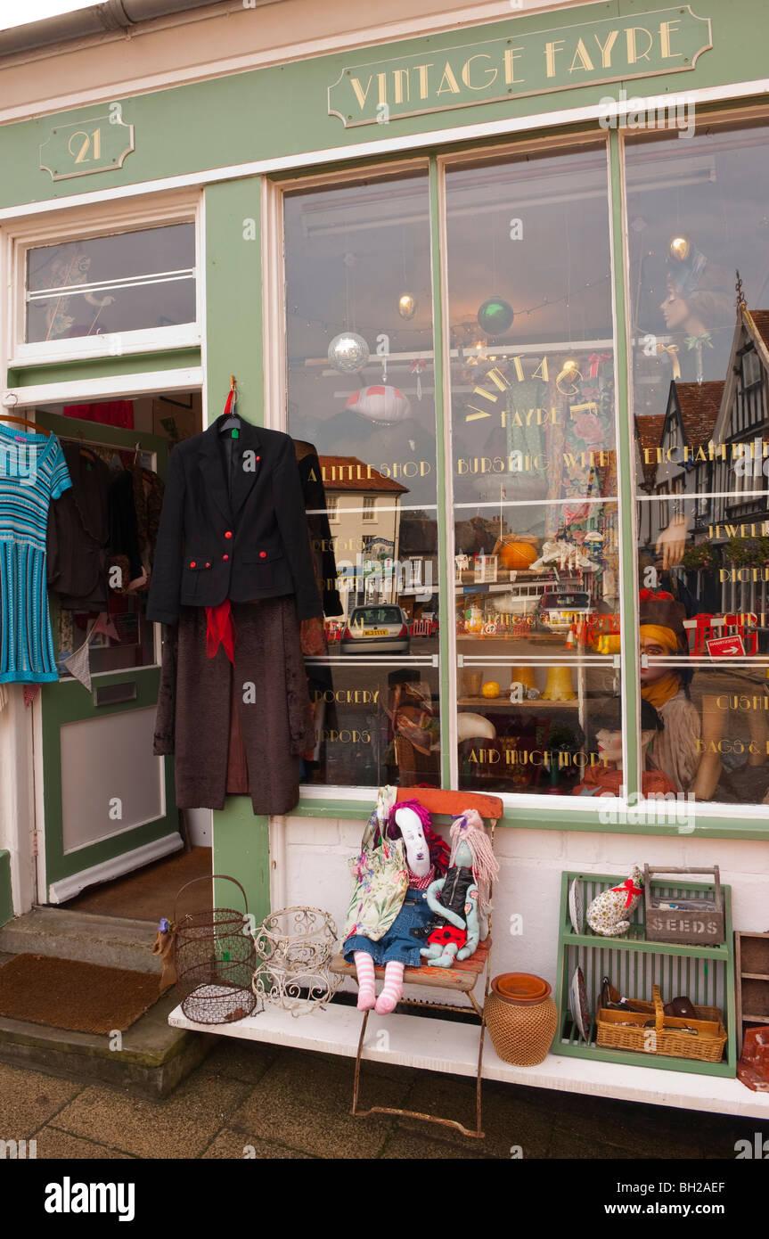 le magasin boutique vintage fayre en framlingham , suffolk