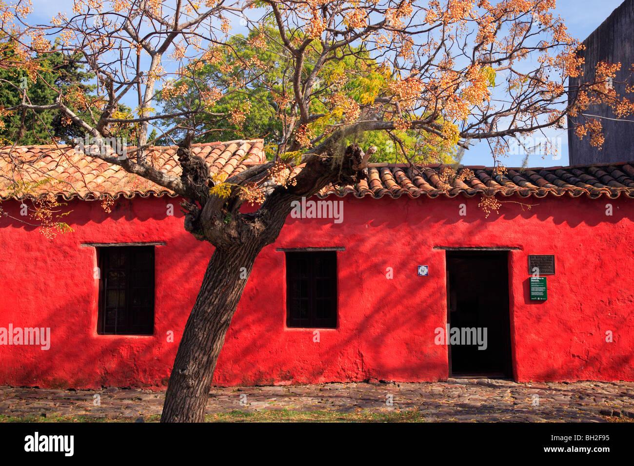 Antique museum house à Colonia del Sacramento. L'Uruguay, Amérique du Sud. Photo Stock
