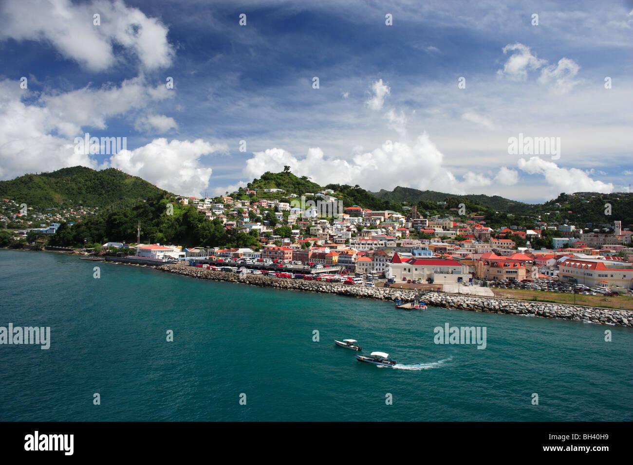 St George's, Grenade, Caraïbes Banque D'Images
