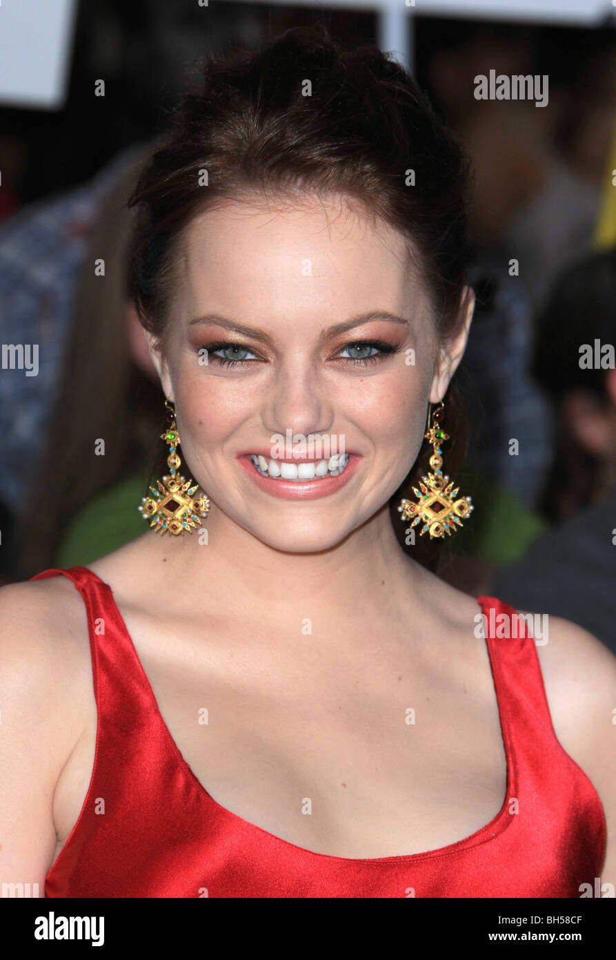 EMMA STONE ZOMBIELAND PREMIERE FILM HOLLYWOOD Los Angeles CA USA 23 Septembre 2009 Photo Stock