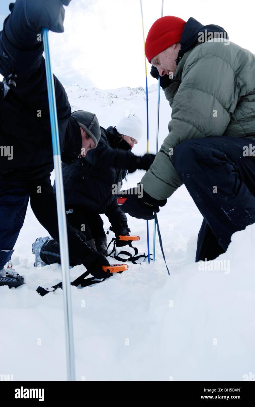 La survie sur la neige Avalanche Beacon
