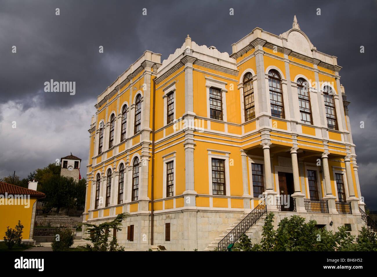 Les détails architecturaux de Safranbolu Turquie maisons Photo Stock