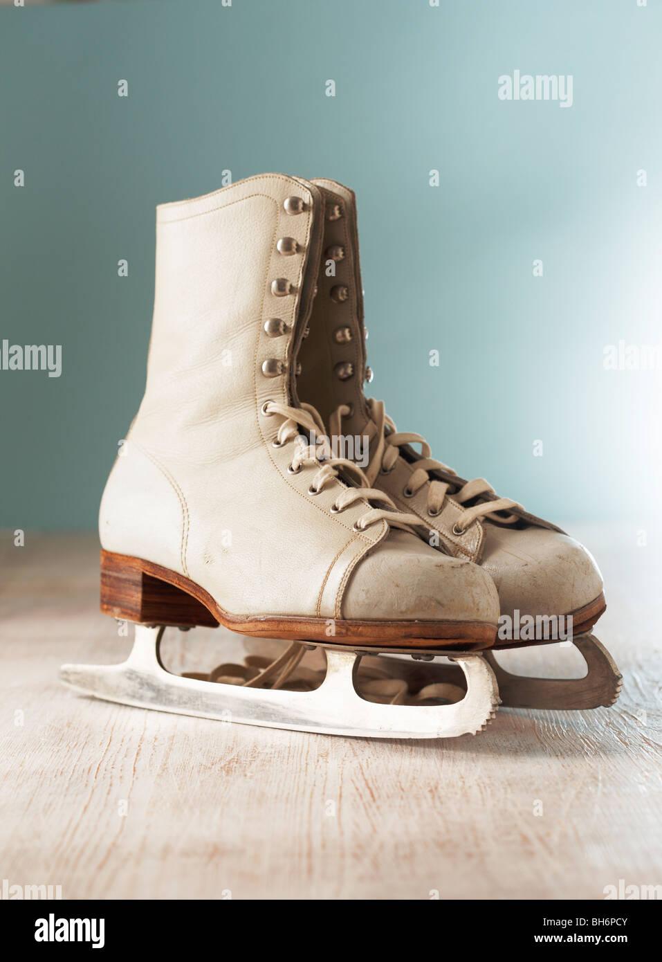 ice skates photos ice skates images alamy. Black Bedroom Furniture Sets. Home Design Ideas