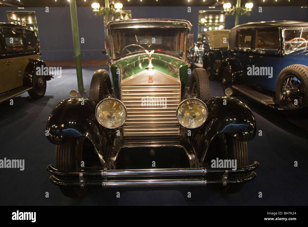 d but moteur rolls royce vintage car la calandre schlumpfs motor museum mulhouse france mus e. Black Bedroom Furniture Sets. Home Design Ideas