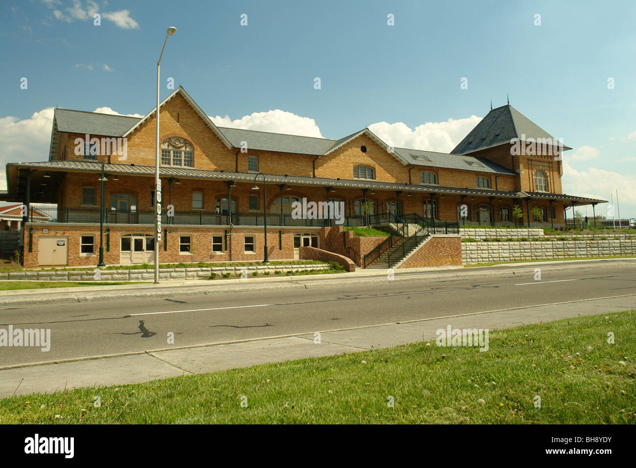 AJD64387, Bristol, VA, TN, Virginie, Tennessee, centre-ville, de la gare Banque D'Images