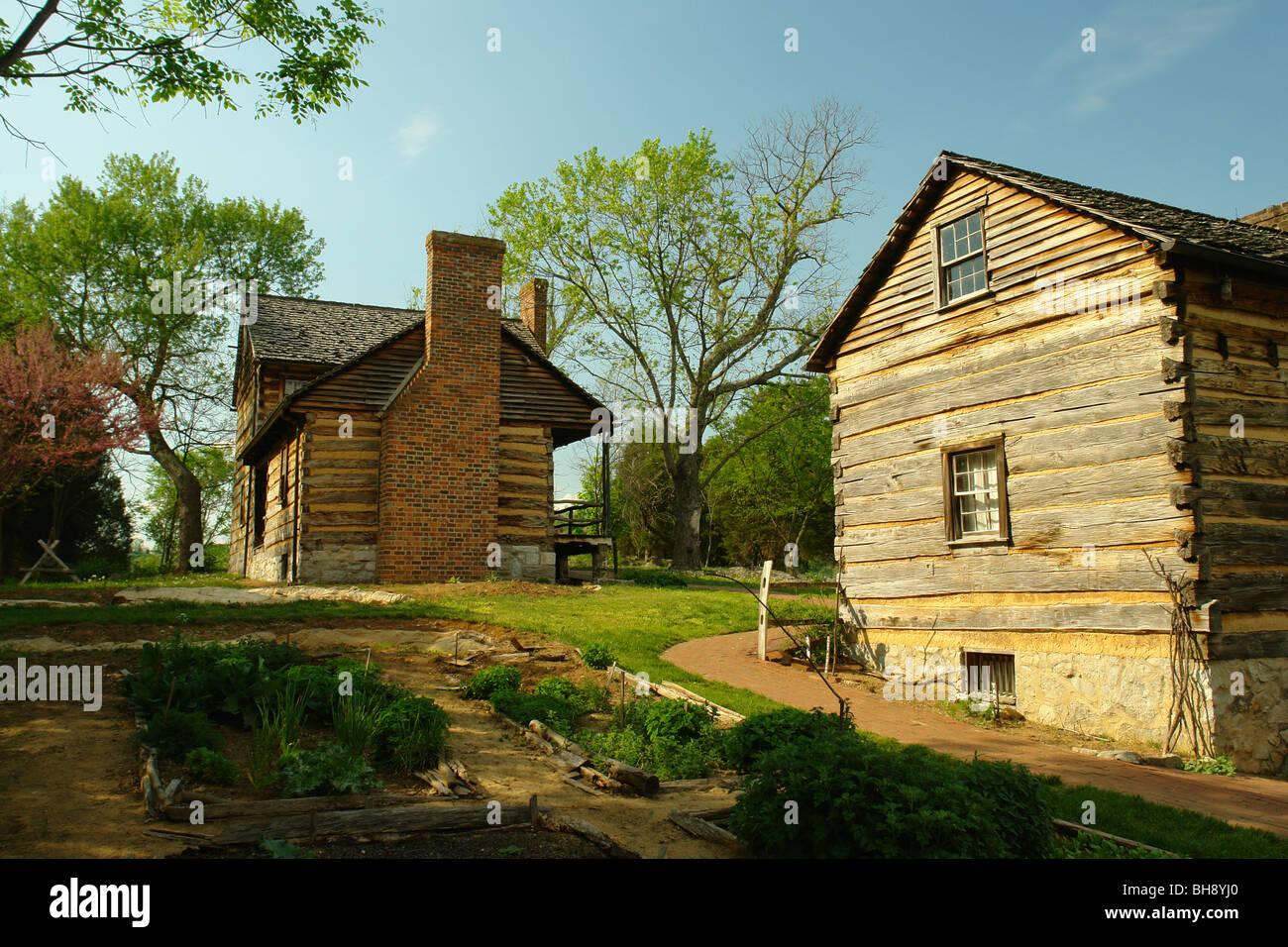 AJD64405, Piney Flats, TN, Tennessee, Musée historique d'état de Rocky Mount, house Banque D'Images