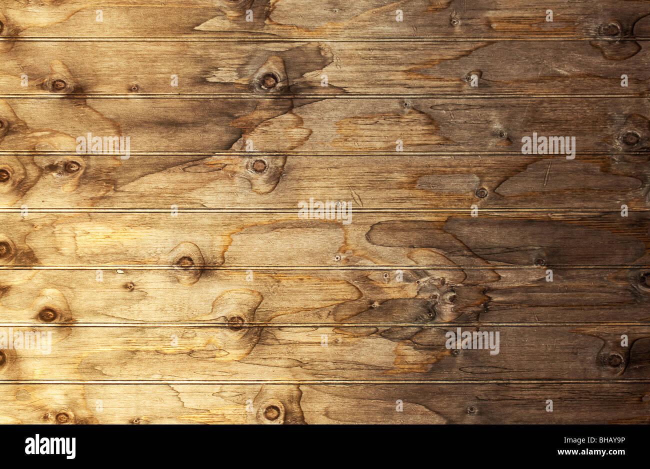 L'image en haute résolution de la surface en bois ancien - parfait comme toile de personnes ou de produits Photo Stock