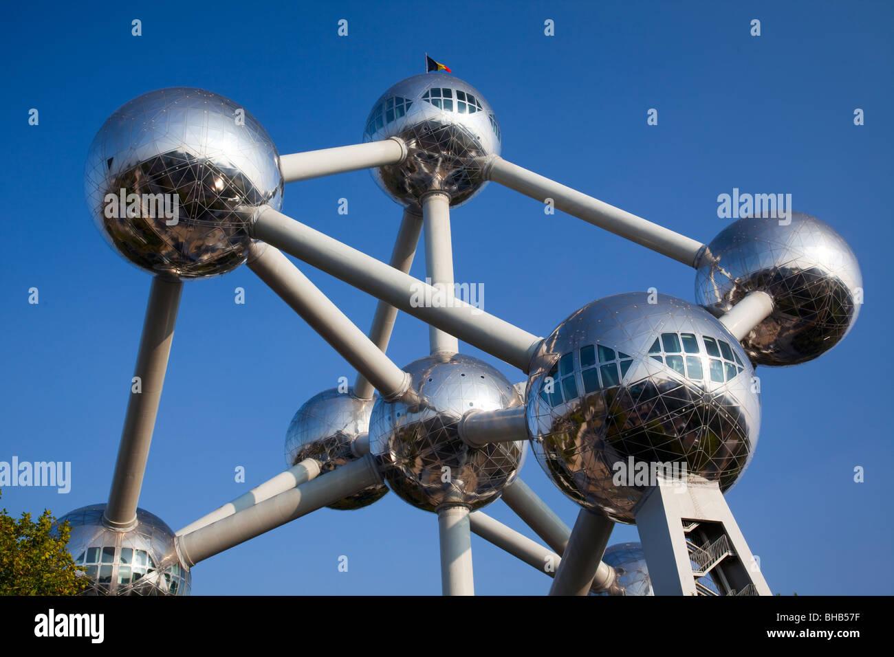 'L'Atomium' Bruxelles Belgique Photo Stock