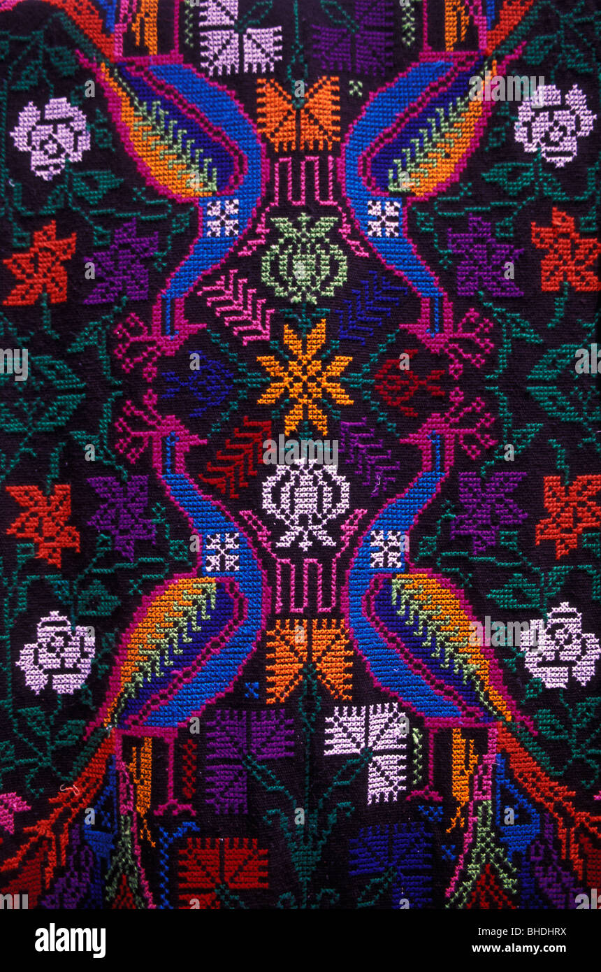 Chiffon textile mexicain Photo Stock
