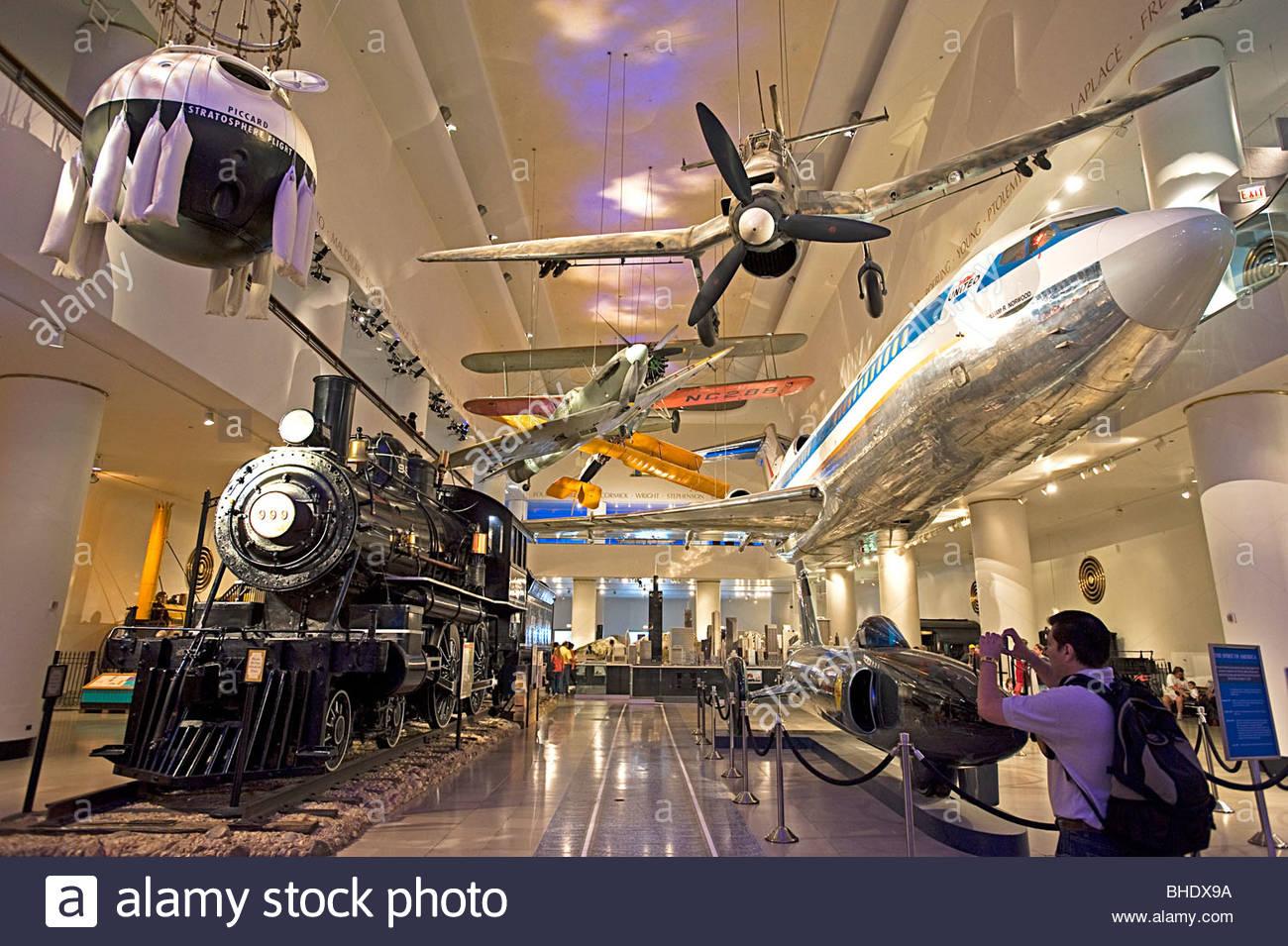 Musée des sciences et de l'industrie. Chicago, Illinois, États-Unis Photo Stock